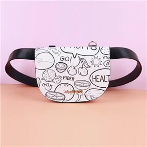 Cute Small Bum Bag Waist Purse with Adjustable Strap for Women