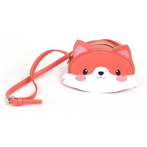 Cute Pvc Fox Girls Bags Animal Shoulder Bag For Ladies