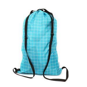 Drawstring Foldable Laundry Bag Backpack for Washing Machine
