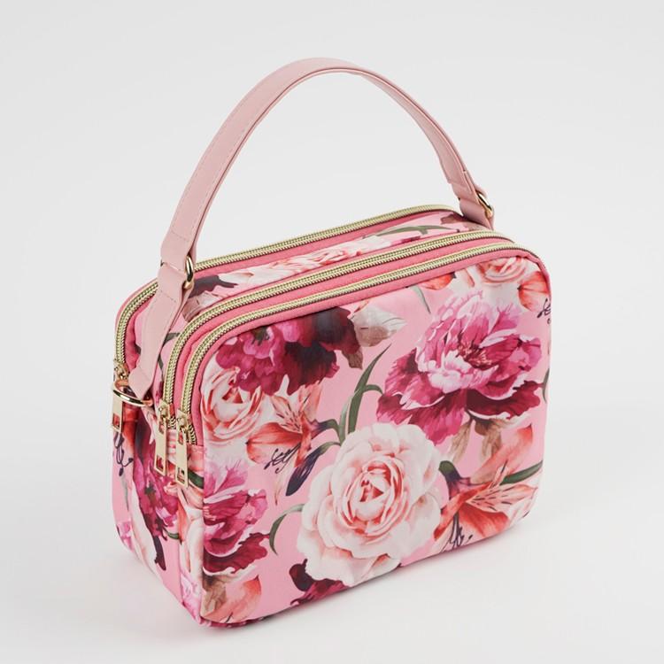 Flower Square Tote Bag Blossom Crossbody Bag Wholesale
