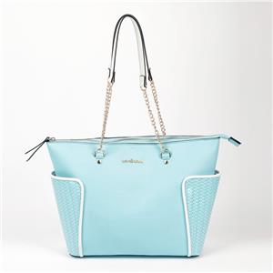 Wholesale Extra Big Azure Handbag Chain Shoulder Strap Tote Bag