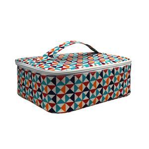 حقيبة غداء كبيرة ملونة من سكور صندوق غداء معزول محمول