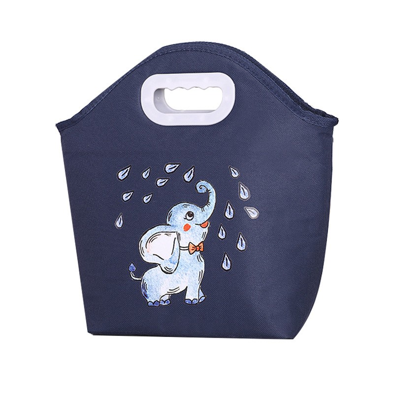 Cute Cartoon Animals Insulated Lunch Bag for Children Kids
