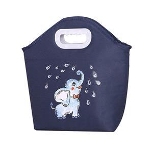 Cute Cartoon Animals Insulated Lunch Bag for Children Kids