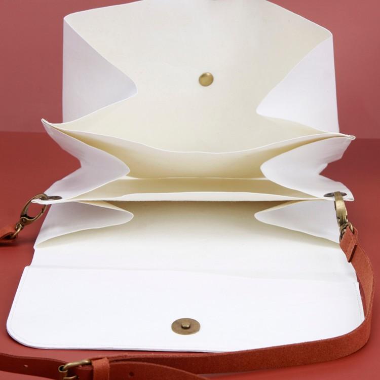Cute White Kraft Paper Handbag Brown Handy Ladies Pouch Manufacturers, Cute White Kraft Paper Handbag Brown Handy Ladies Pouch Factory, Supply Cute White Kraft Paper Handbag Brown Handy Ladies Pouch