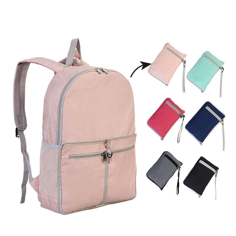 Packable Ultralight Hiking Backpack Foldable Multi-functional Bag