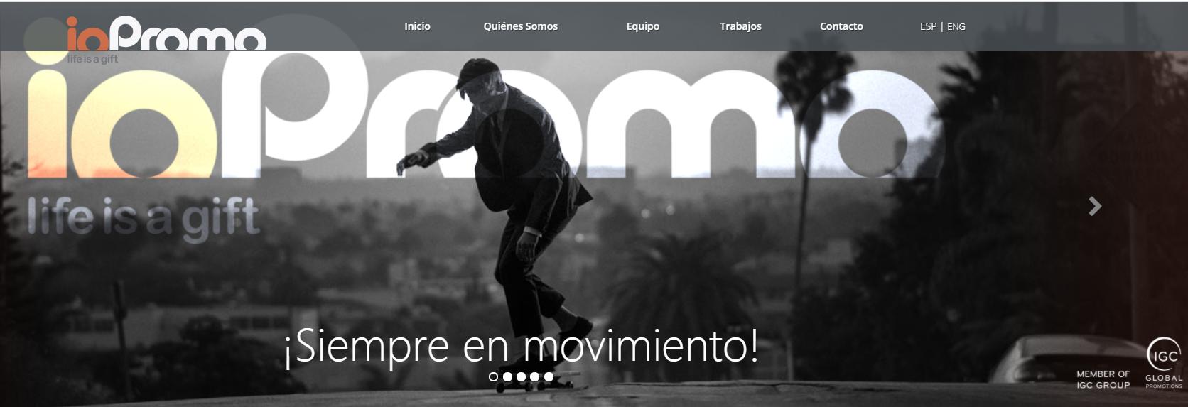 Avrupa'daki en büyük hediye şirketlerinden biri-ortağımız IOPromo