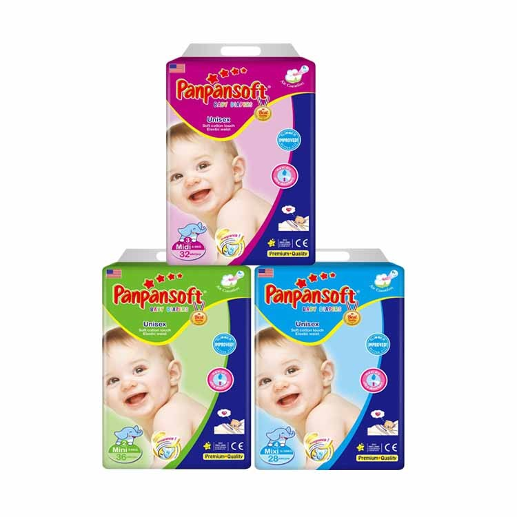 Super Absorbency And Dry All Day Infant Kids Diaper