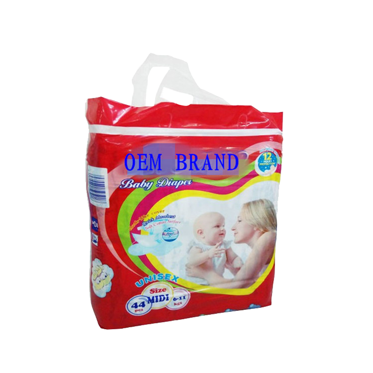 OEM Disposable Soft Care Ultra-Thin Hello Baby Diapers