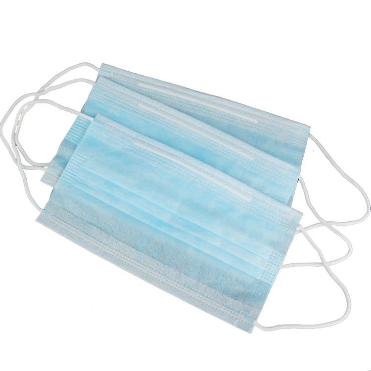 3 Ply Non Woven Disposable Face Mask with Earloop Protection From Dust Pollution Pm2.5