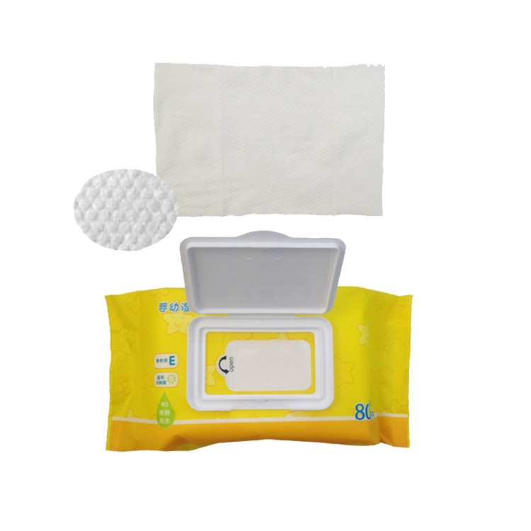 Panpansoft, Uni4star, 80pcs Non Alcohol Soft Wet Wipes For Baby's Face and Hand Cleaning Factory