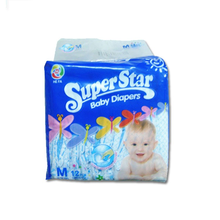 High Quality Disposable Private Label Baby Diaper Manufacturer