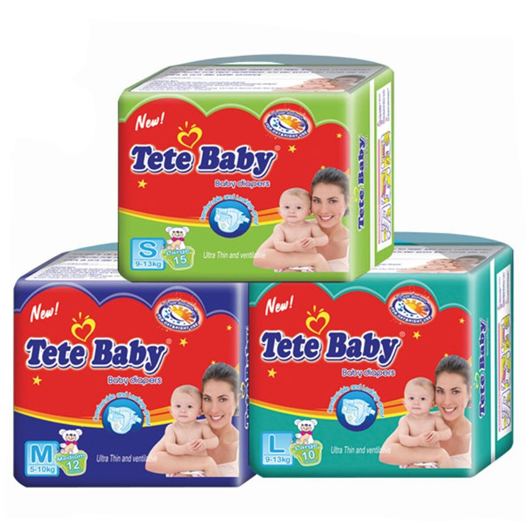 Smile Baby Diaper Oem Disposable Baby Diapers