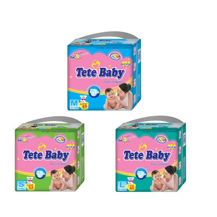 Ultra-thin And Soft Disposable Cover Baby Diapers Nappies