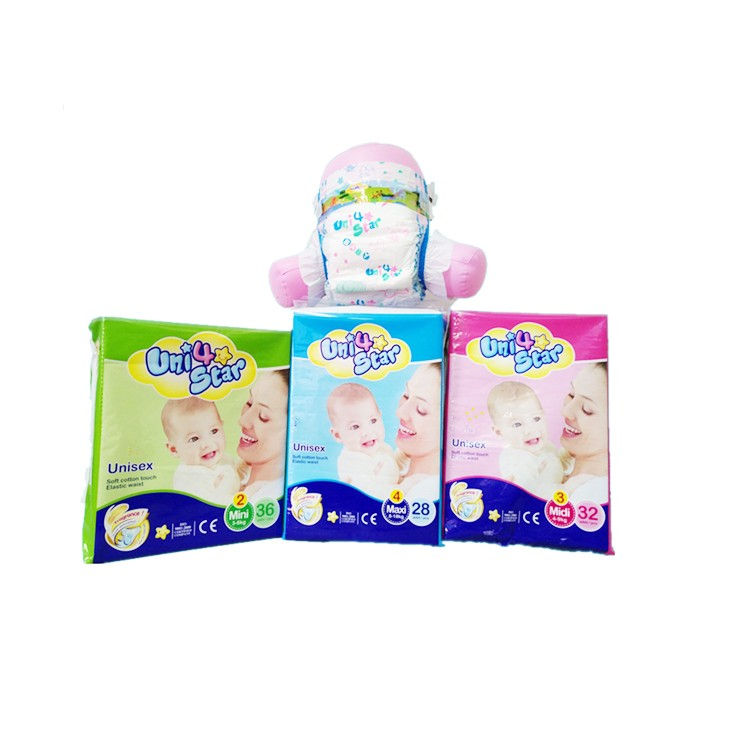 Disposable Baby Diaper Nappy Product Baby-dry Diapers