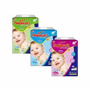 Fralda descartável de alta absorção para bebês