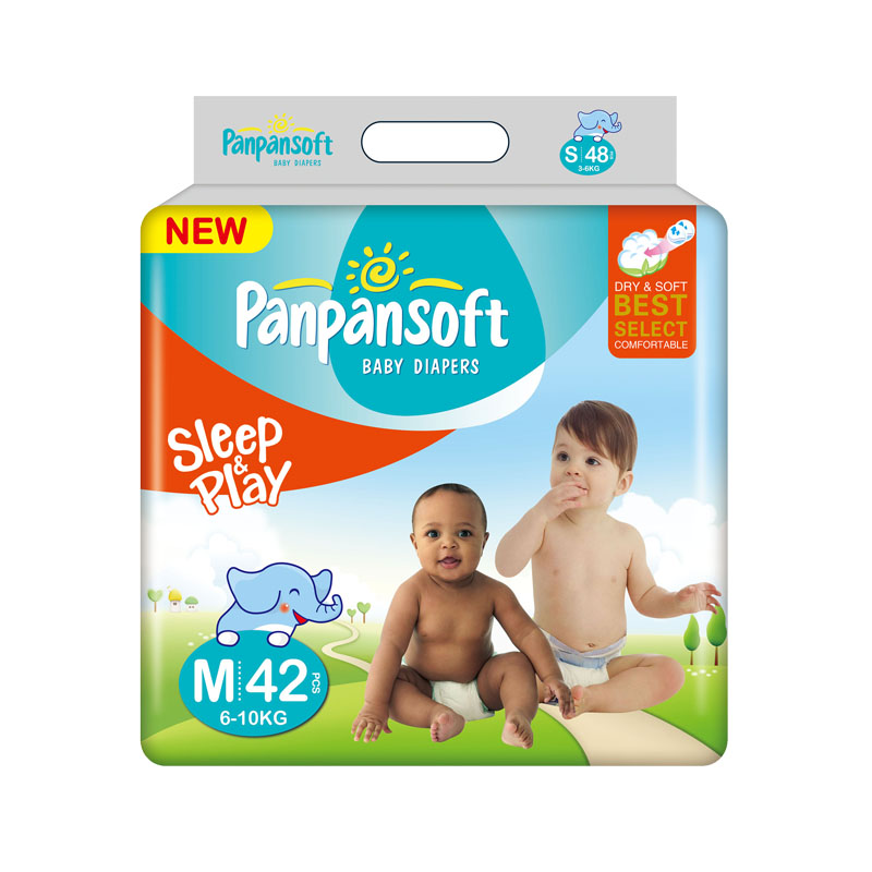 Attractive Price Disposable Africa Baby Diaper Manufacturer from China