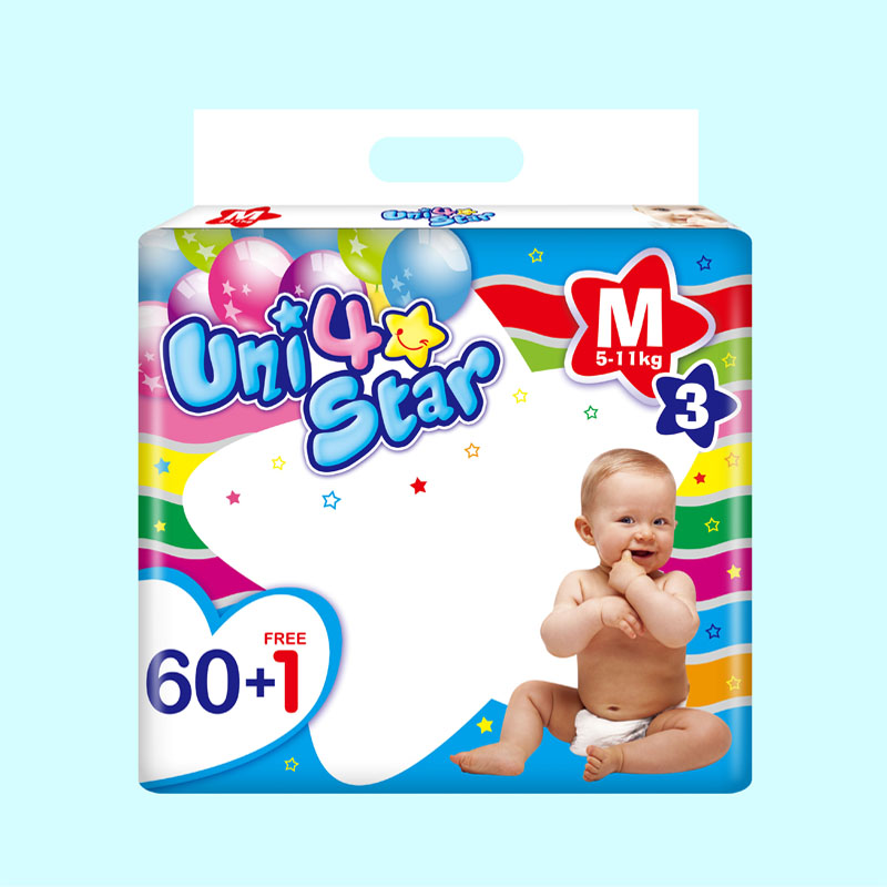 Fast Delivery Sleepy Soft Disposable Good Quality Diaper for Babies