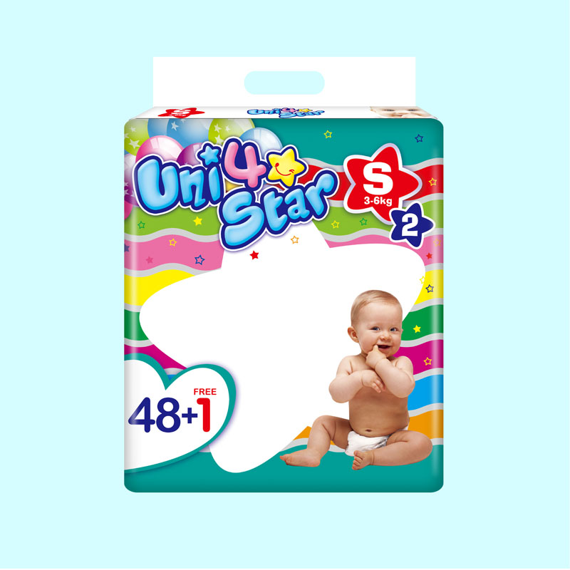 Panpansoft, Uni4star, Fast Delivery Sleepy Soft Disposable Good Quality Diaper for Babies Factory