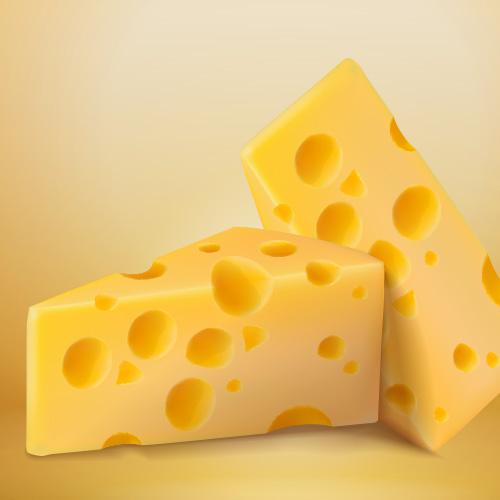Intense cheese aroma