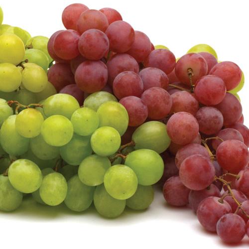 Intense grape aroma