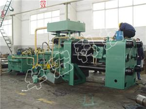 Horizontal Briquetting Machine