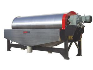Wet Drum Separator for Recovery of Heavy Media
