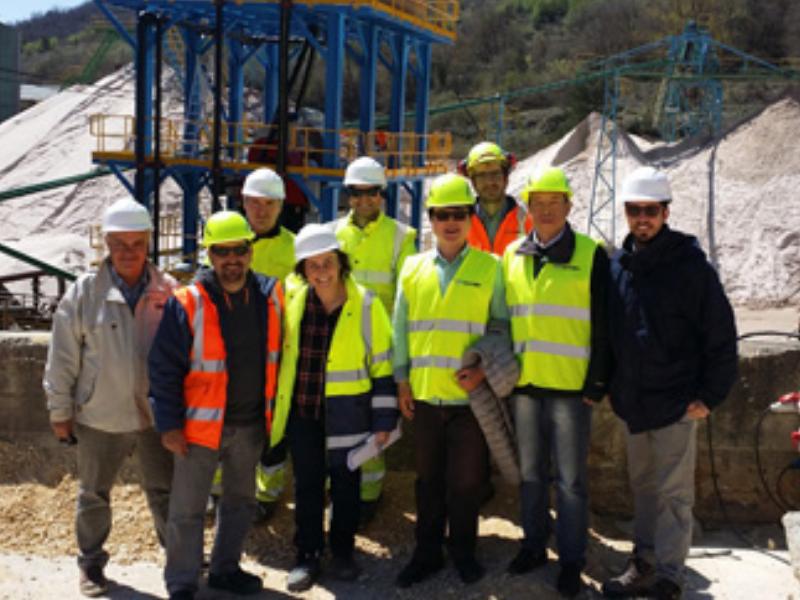 Nhà máy phi kim loại lớn nhất của Tây Ban Nha giới thiệu bộ phân tách từ tính mạnh của LONGi