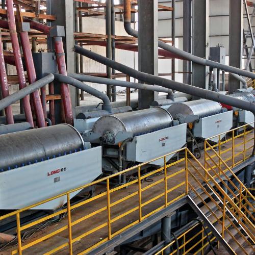 Máy tách từ tính trung bình nặng cho than