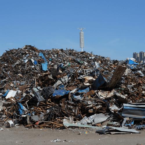 Steel scrap recycling