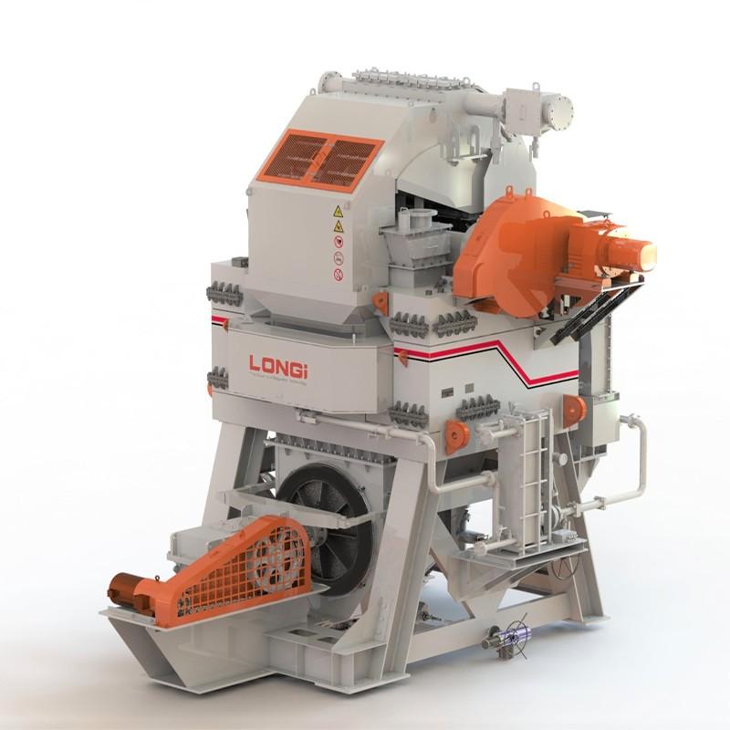 Мокрий магнітний сепаратор високої інтенсивності для металевого матеріалу
