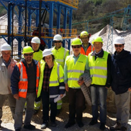 The largest non-metallic plant of Spain to introduce strong magnetic separator of LONGi