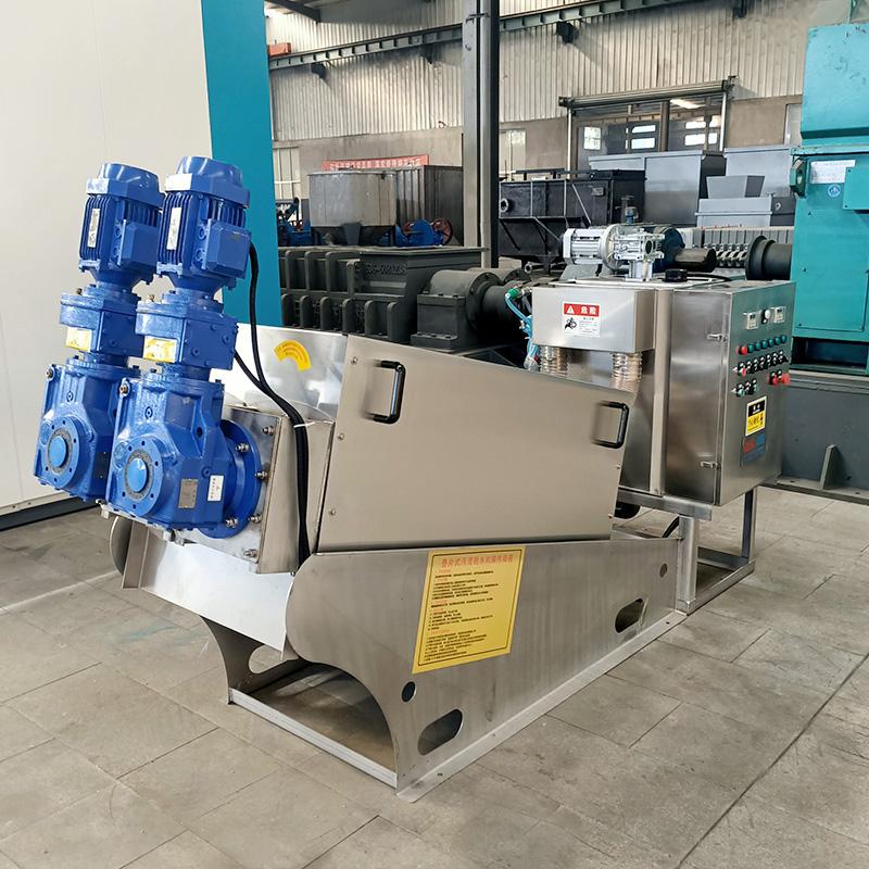 Multi Plate Sludge Dewatering Screw Press Manufacturers, Multi Plate Sludge Dewatering Screw Press Factory, Supply Multi Plate Sludge Dewatering Screw Press