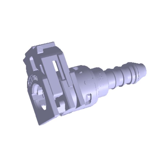 Push-Pull Detachable Single-Press Type Fuel Hose Quick Coupler