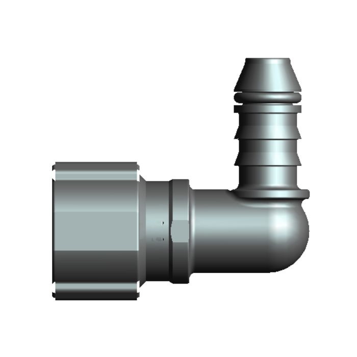 Non-Removable Fuel System Oil And Gas Quick Coupler