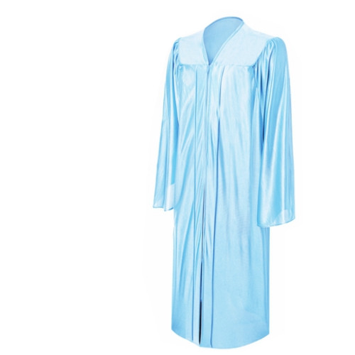 Shiny Graduation Gown Only