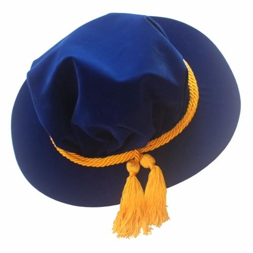 PhD/Doctoral Tudor Bonnet Royal Blue