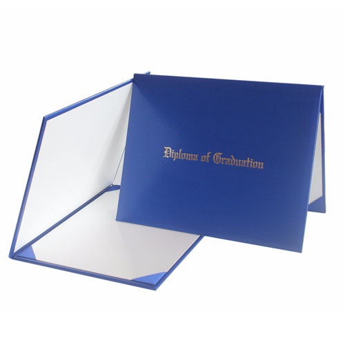 Diploma Of Graduation Certificate Printing Royal Blue