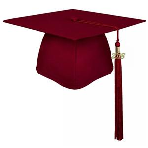 High quality Matte Maroon Decorated Graduation Cap Quotes,China Matte Maroon Decorated Graduation Cap Factory,Matte Maroon Decorated Graduation Cap Purchasing