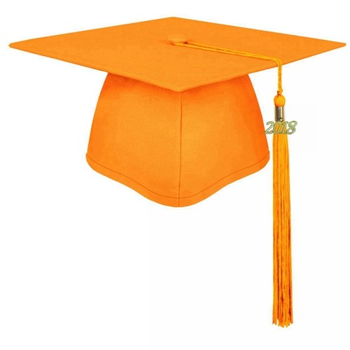 Matte Children Graduation Cap