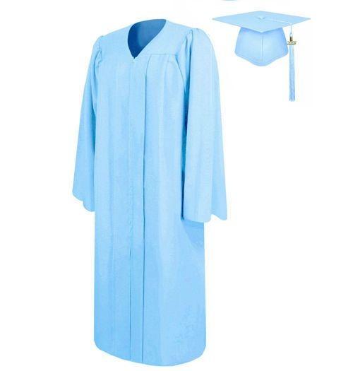 Matte High School Graduation Gown