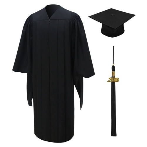 Deluxe Master Gown Cap Tassel 2018 Year Charm
