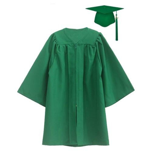 Matte Popular Graduation Cap Gown For Children