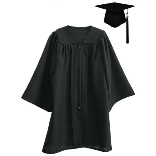 Premium Matte Kindergarten Graduation Cap Gown