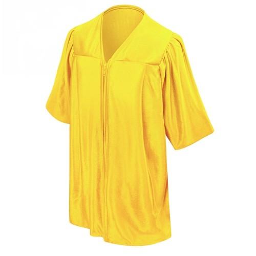 Kindergarten School Gold Shiny Graduation gown