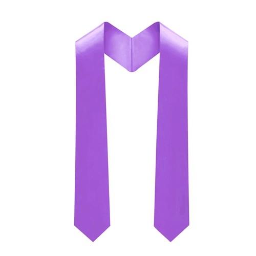 Purple Unisex Premium Graduation Stole