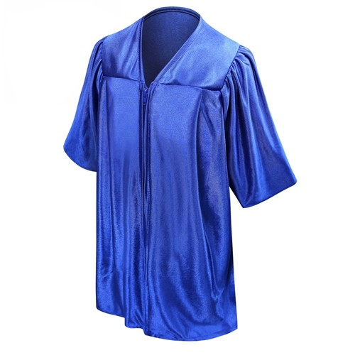 Unisex Royal Blue Kindergarten Graduation Gown