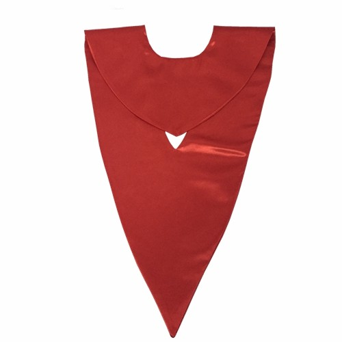 High Quality Red Graduation V-stole