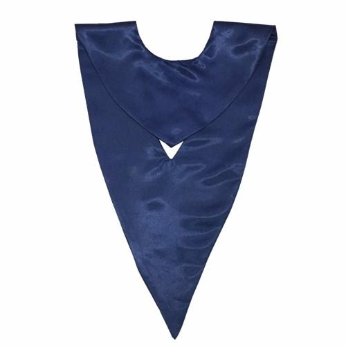 Academic Wholesale Navy Blue Graduation V-stole