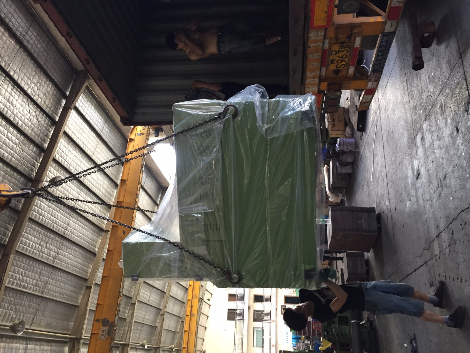 Hydraulic press machine for rubber sole